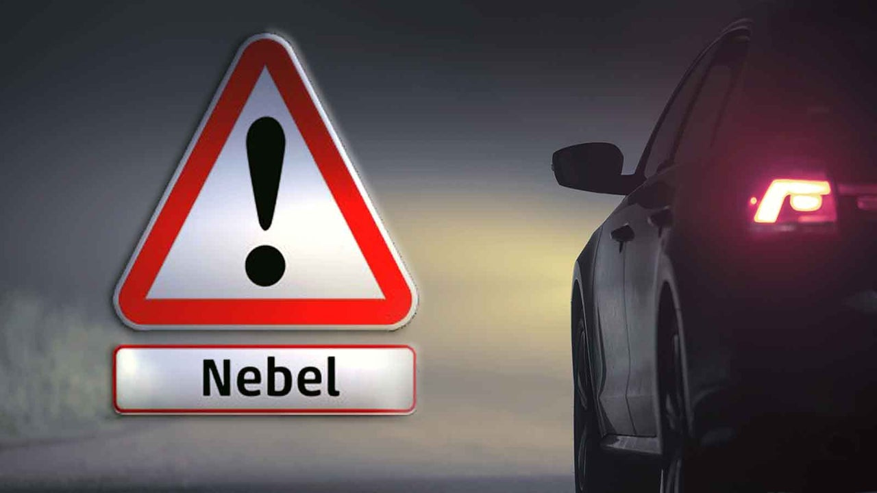 Abendwetter: Autofahrer aufgepasst - örtlich zieht dichter Nebel auf