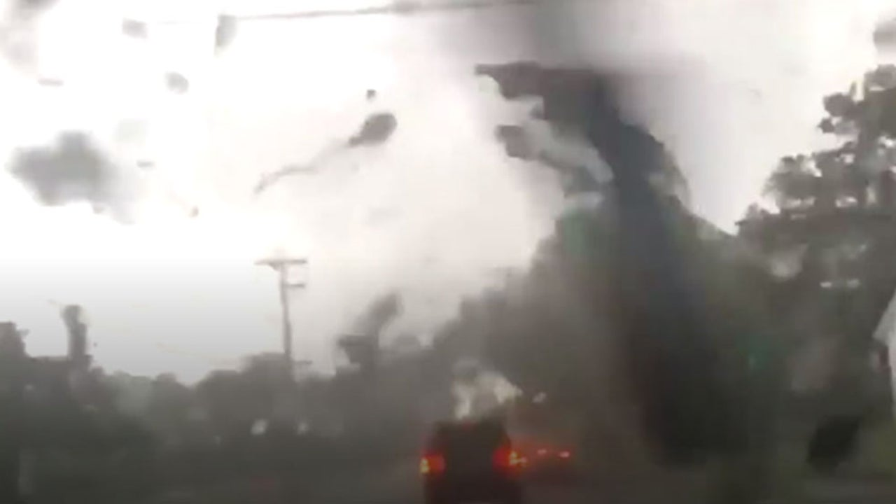 Tornado Touches Down in New Jersey