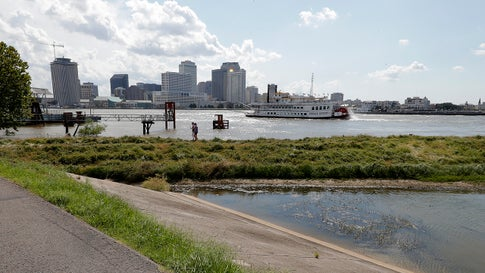 New Orleans' Levees Threatened by Flooded Mississippi River as Hurricane Season Heats Up