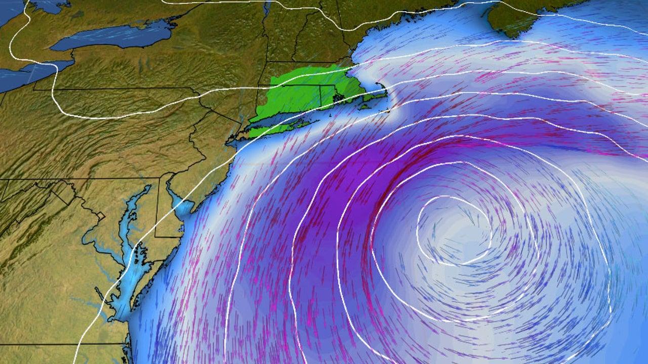 Tormenta trae fuerte lluvia a N. England y Atlántico Medio