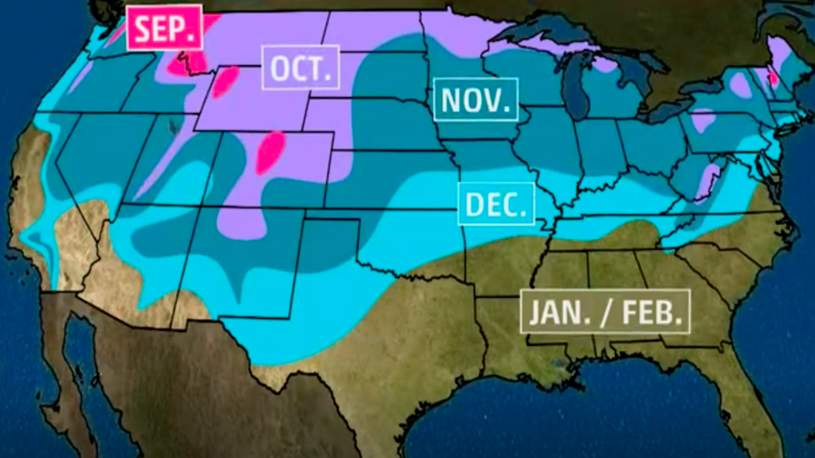 The Types of Weather You Might See in November