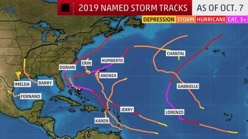 The Atlantic Is Quiet Right Now, But That Doesn't Mean Hurricane Season Is Over