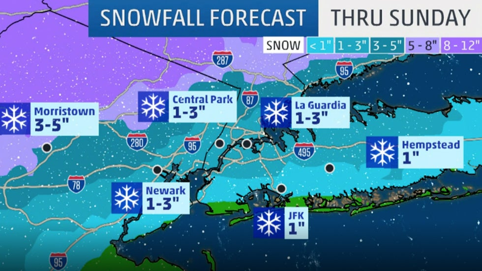 New York: What to Expect with Winter Storm Harper