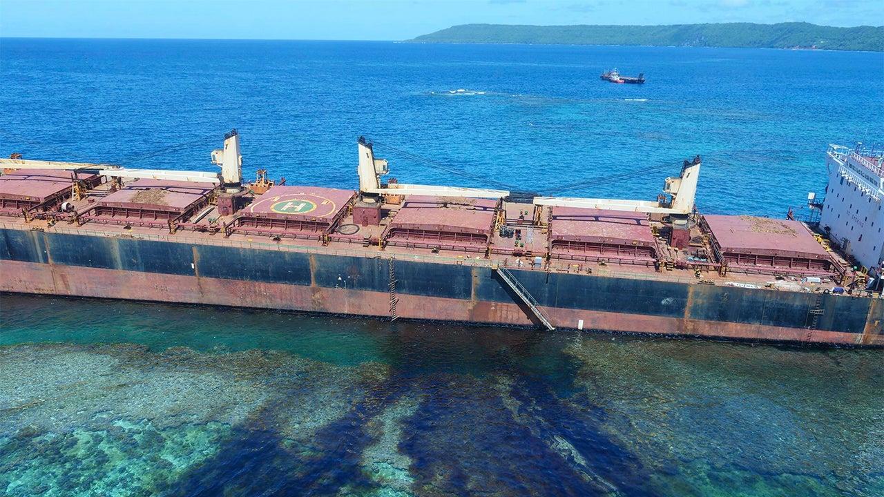 Oil Spill Threatens Solomon Islands UNESCO World Heritage Site