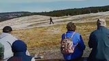 Yellowstone Tourist Gets Too Close to Old Faithful, Angers Crowd
