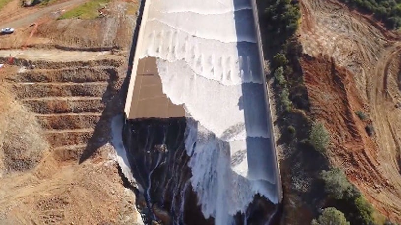 Over 19,000 Seismic Events Linked to Oroville Dam Spillway