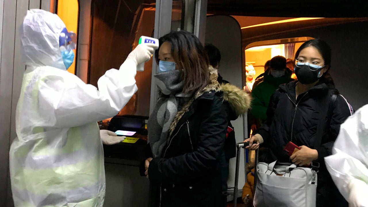 Airport screenings expand in the U.S. after virus confirmed in Washington state