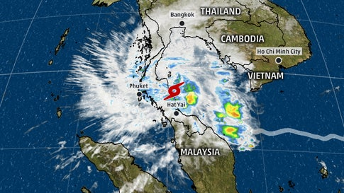Thailand Weather Map.Tourists Advised To Avoid Storm Hit Thai Resorts The Weather Channel