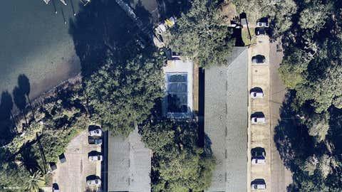Panama City, Florida, before (December 2017) Category 4 Hurricane Michael's catastrophic landfall on the Florida Panhandle on October 10th, 2018. (Credit: Nearmap (https://go.nearmap.com/) )