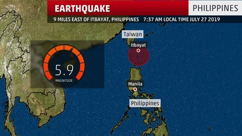 8 Dead, 60 Hurt as Earthquakes Shake Northern Philippine Isles