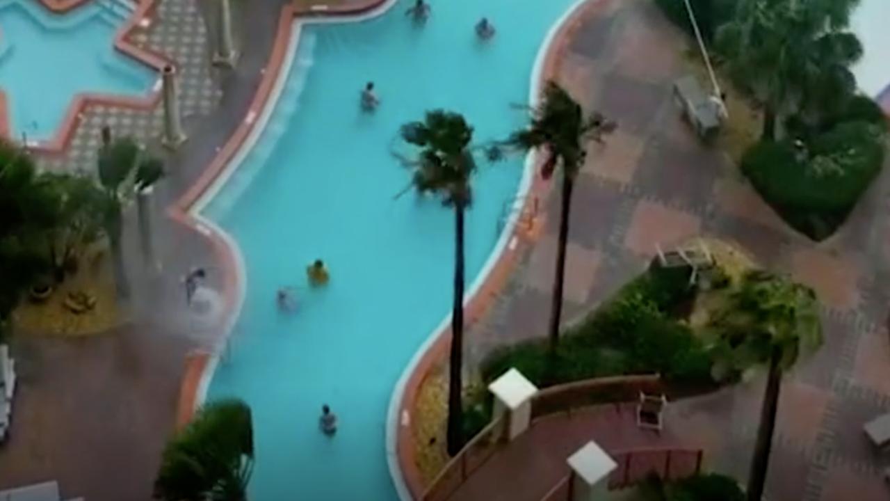 Winds Create 'Poolnado' at Panama City Beach Resort