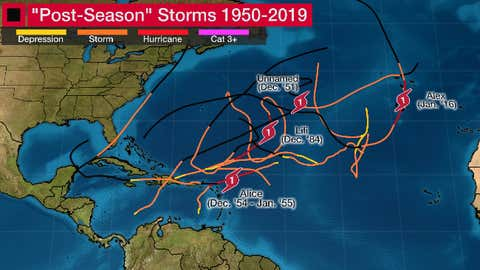 The 2020 Atlantic hurricane season won't essentially finish when December begins, doubtlessly including to a document variety of storms.