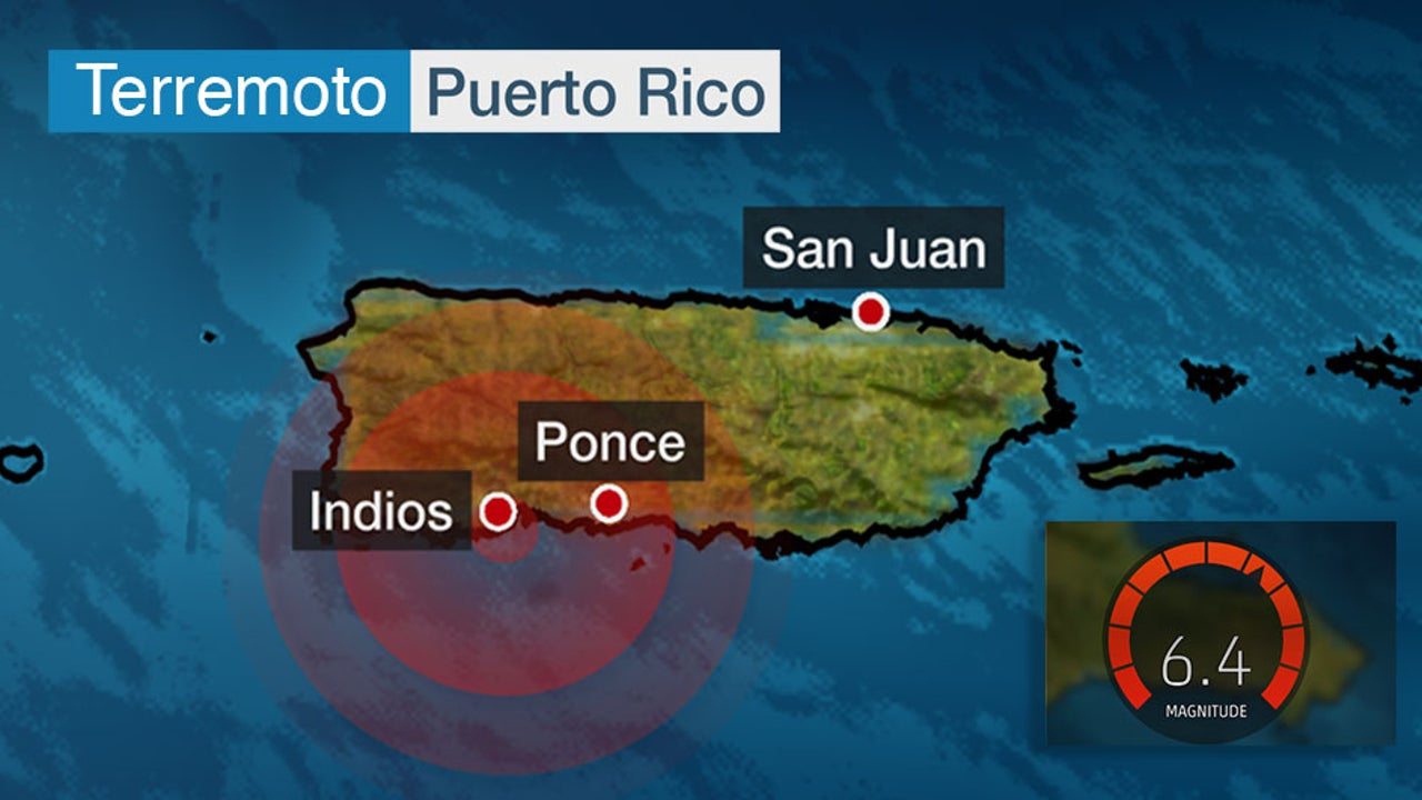 Nuevo terremoto sacude Puerto Rico