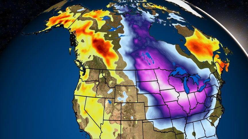 Midwest Cities Will be Colder Than Alaska, But There's a Reason For That