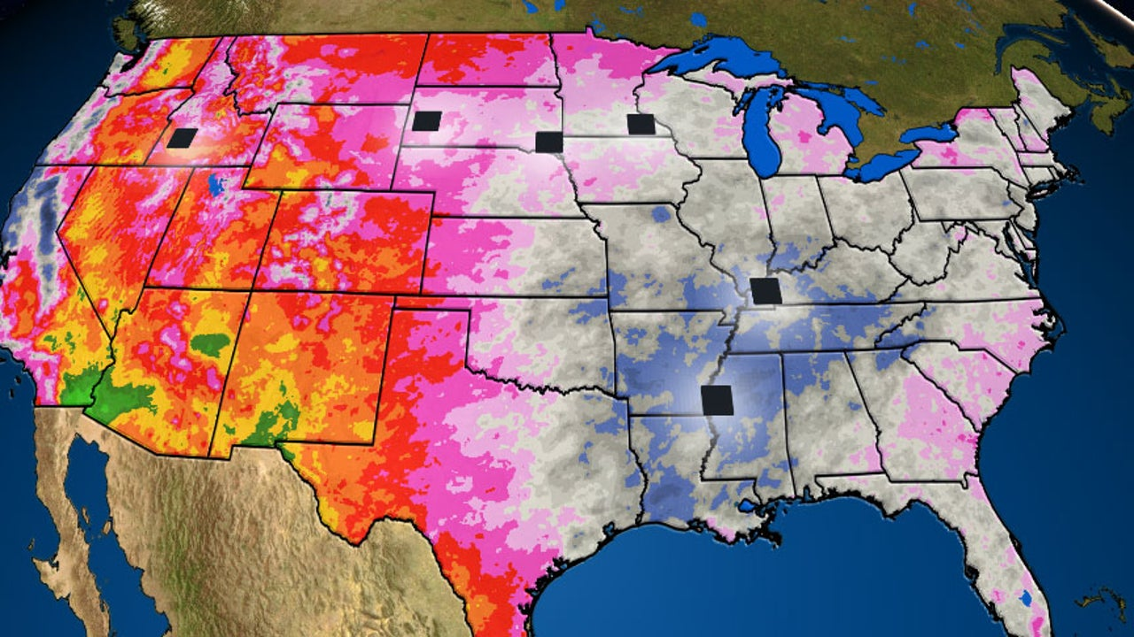 Several cities in the U.S. have already topped their average precipitation total for an entire year