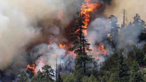 (Jerry McBride/The Durango Herald via AP)/The Durango Herald via AP)