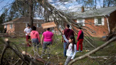 (Andrew Krech/News & Record via AP)
