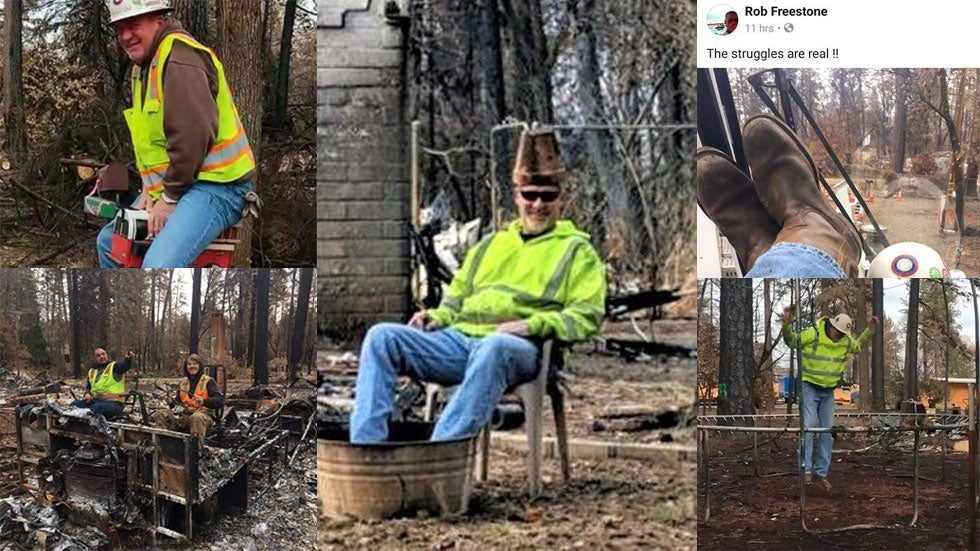 Camp Fire Cleanup Workers Fired Over 'Reprehensible' Photos