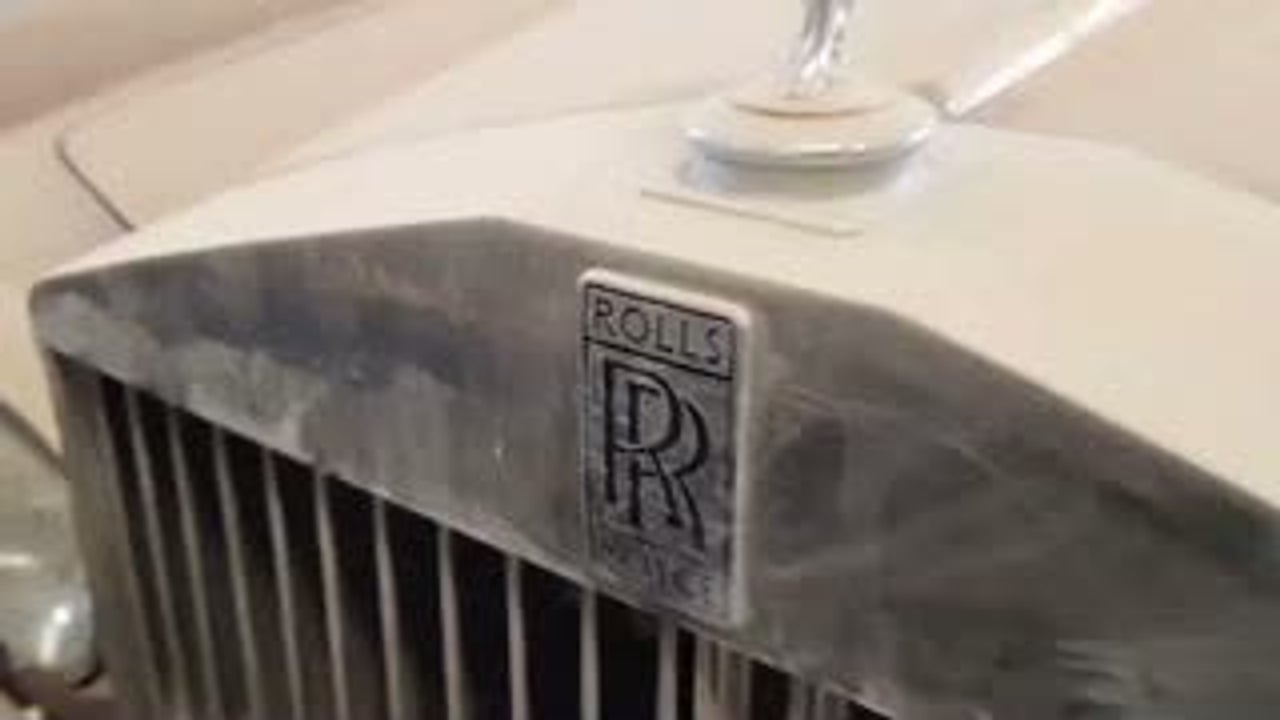 United Arab Emirates Junkyard Filled with Expensive Luxury Cars