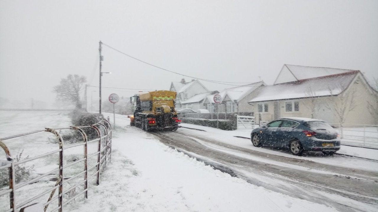 Warnings upgraded to Amber with treacherous freezing rain adding to blizzards