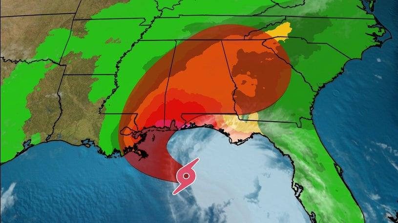 Tropical Storm Sally Churns Through Northern Gulf