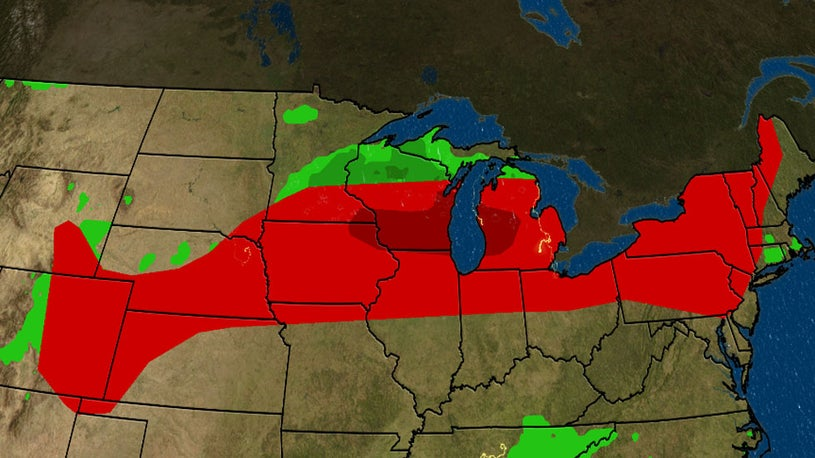 Who Could See Severe Storms this Weekend?