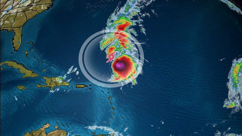 Sebastien Strengthening, Could Become a Hurricane by Tonight