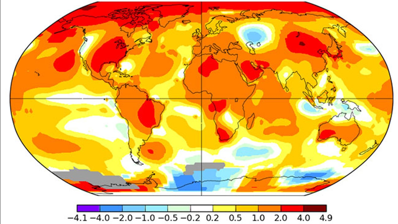 September was the latest month of near-record warmth across the globe.
