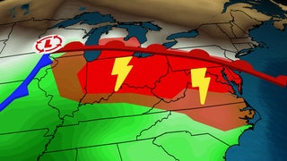 Tornadoes Possible: Dangerous Severe Weather Today