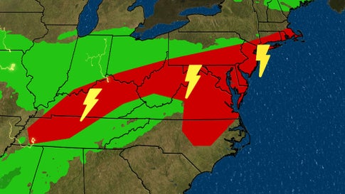 Storms to Bring Rain to Parts of Midwest and Northeast