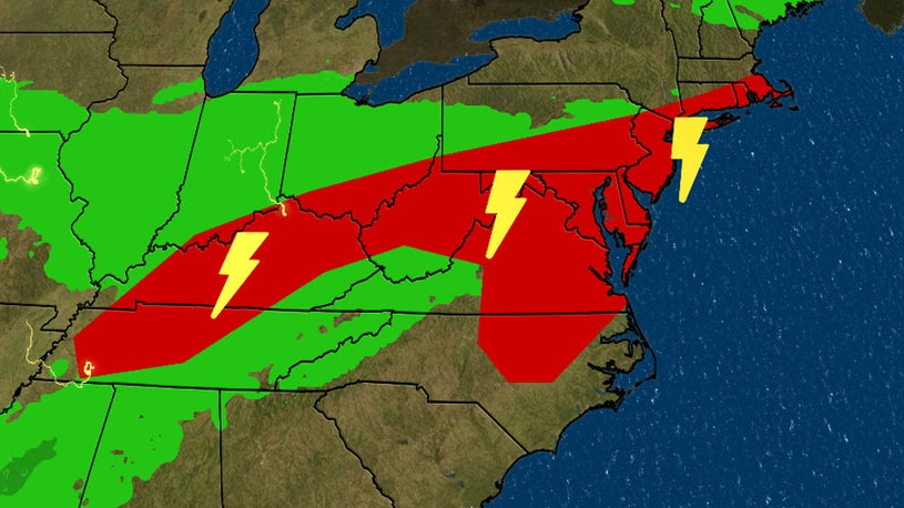 Storm Brings Severe Weather to Parts of Midwest, Northeast