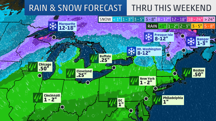 Forecast: Heavy Snow, Possible Blizzard Conditions