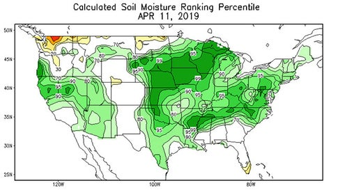 Drought Coverage in the Continental U.S. Drops to a 21st Century ...