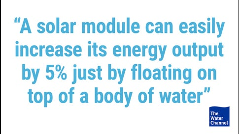 Floating Solar Panels Are Helping This Mining Company Save Water