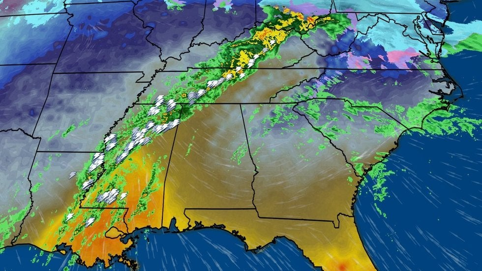 Days of Rain Continue for the South