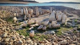 Stone Monuments in Spain Reappear After Summer