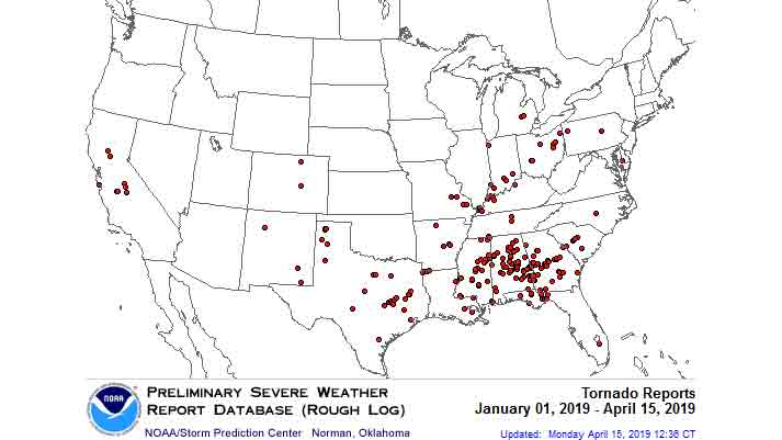 No Tornadoes Have Struck Oklahoma and Kansas So Far in 2019, But the Streak May Soon End