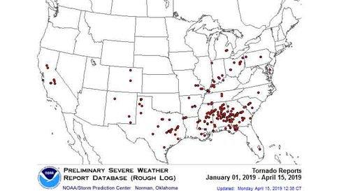 The No Tornado Streak Has Ended in Oklahoma and Kansas