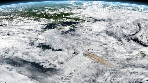 Russian Volcano Erupts for the First Time Since 1924 And the
