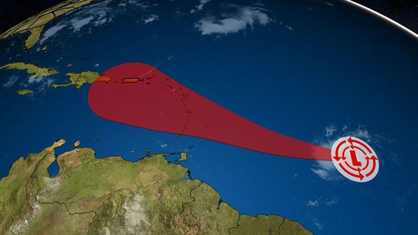 Watching New Tropical Depression in Central Atlantic
