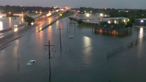 How Imelda's Prolific Rain, Flooding Compares to Harvey in East Texas
