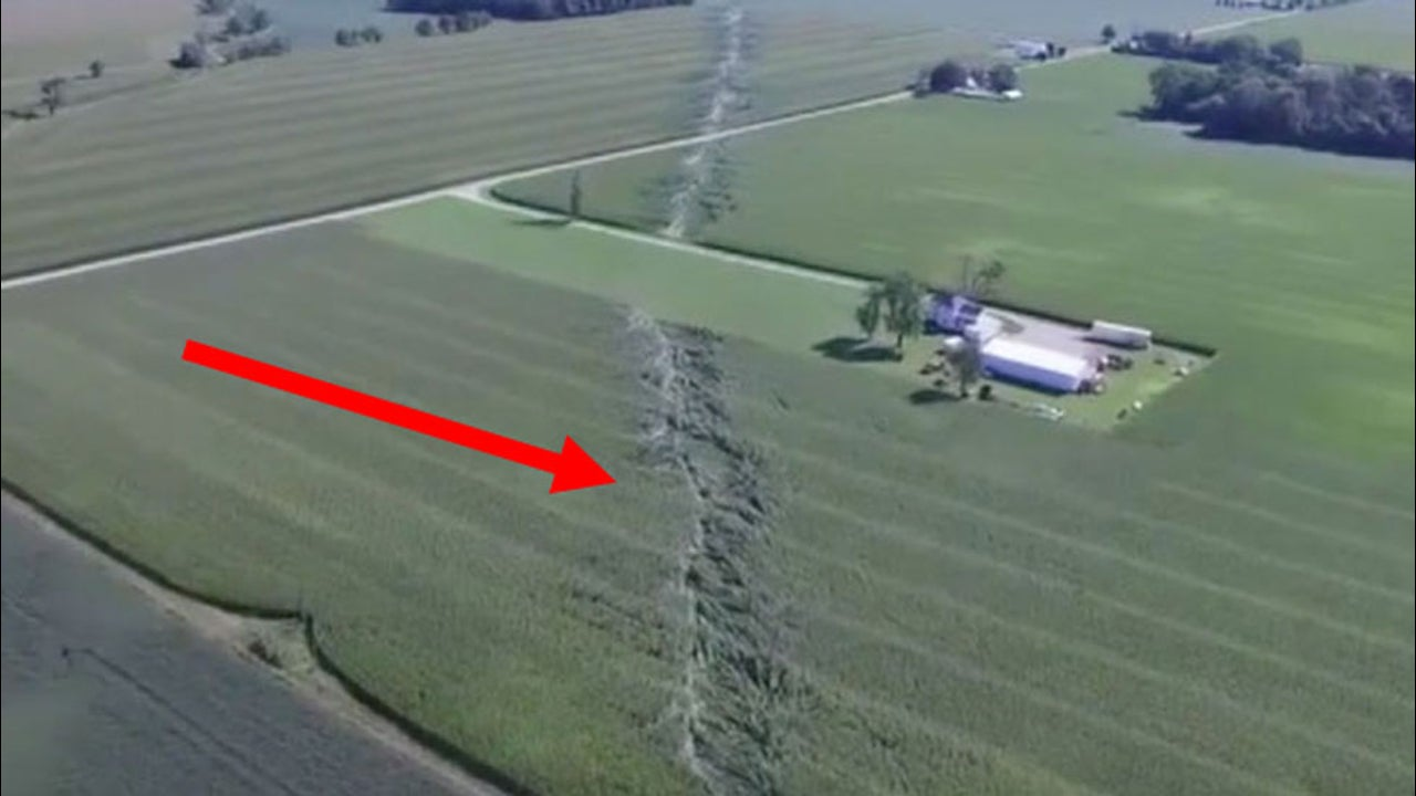 Drone Spotted It in Ohio Field