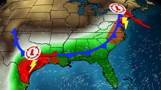 Today's Severe Threat Impacting Major Metros