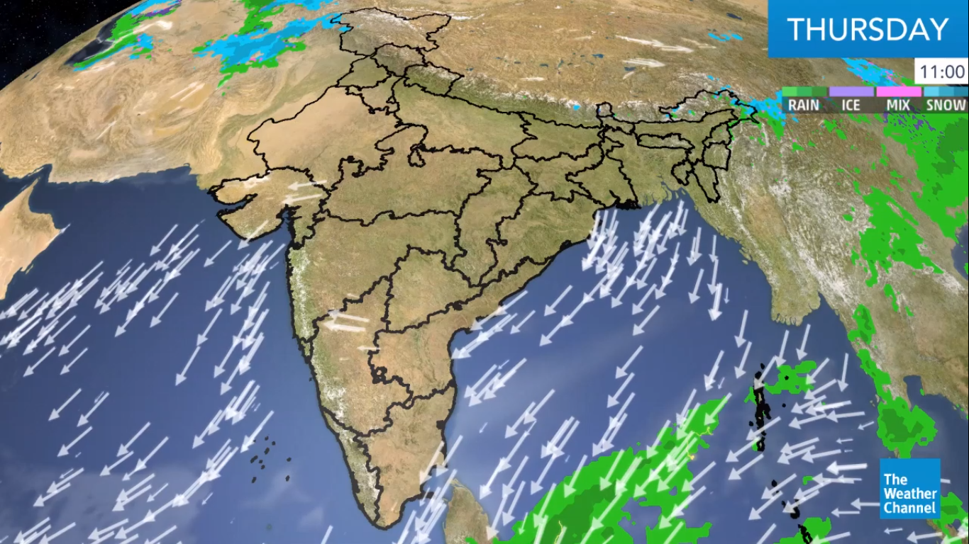 Rains and Thunderstorms Continue Across India
