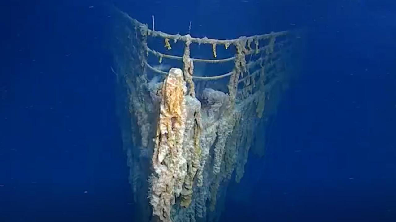New Images Show Titanic's Stunning Deterioration