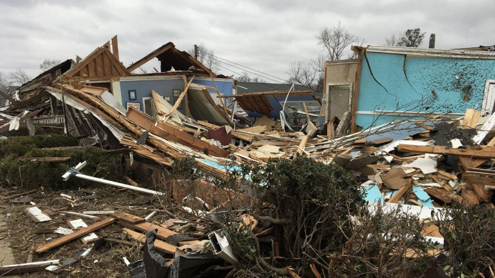 Tornadoes Cause Extensive Damage in the South