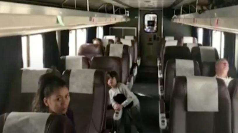 183 Passengers Trapped on Amtrak Train Overnight