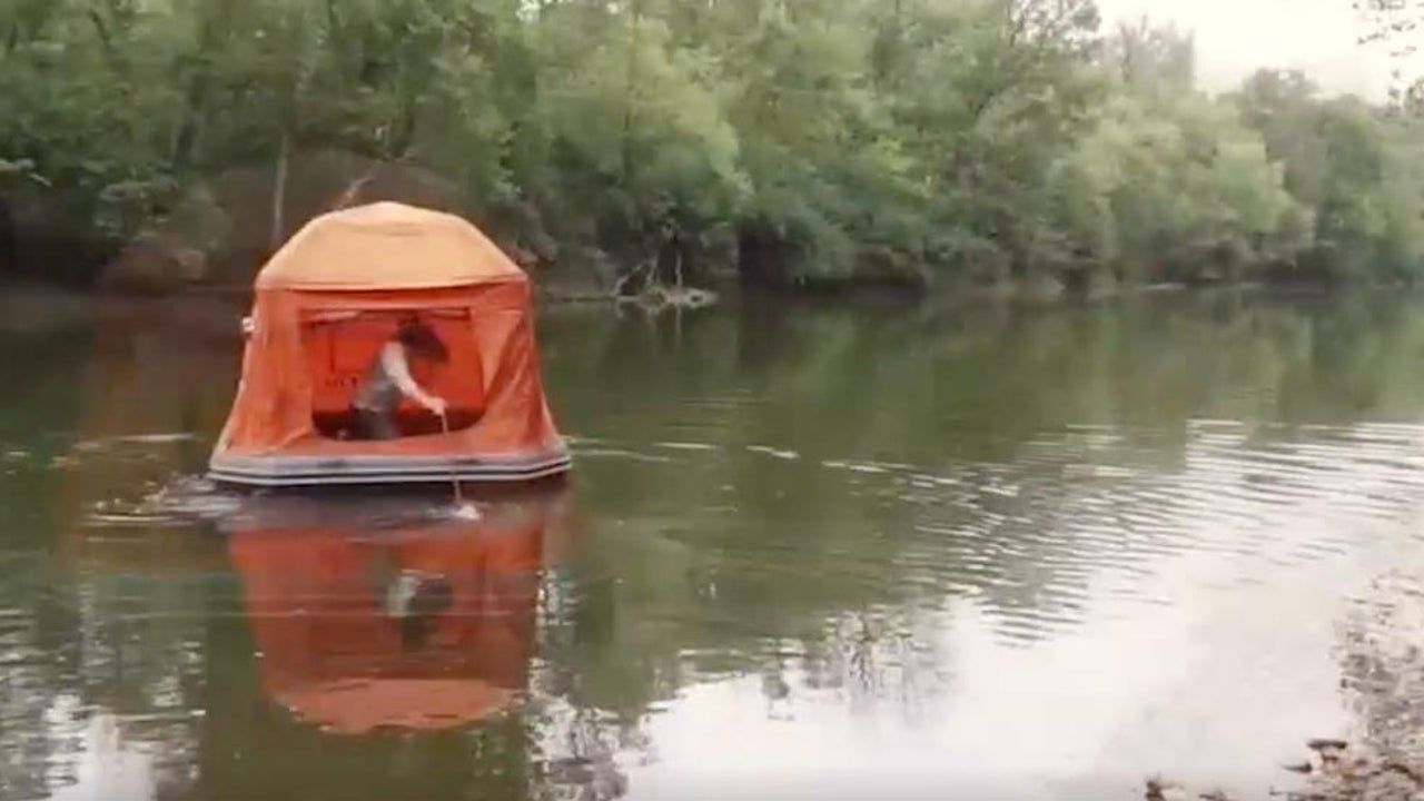 Would You Sleep in This Floating Tent?