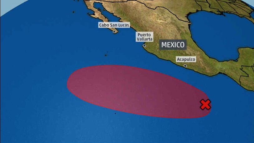 Area to Watch in Eastern Pacific Has High Chance of Tropical Development