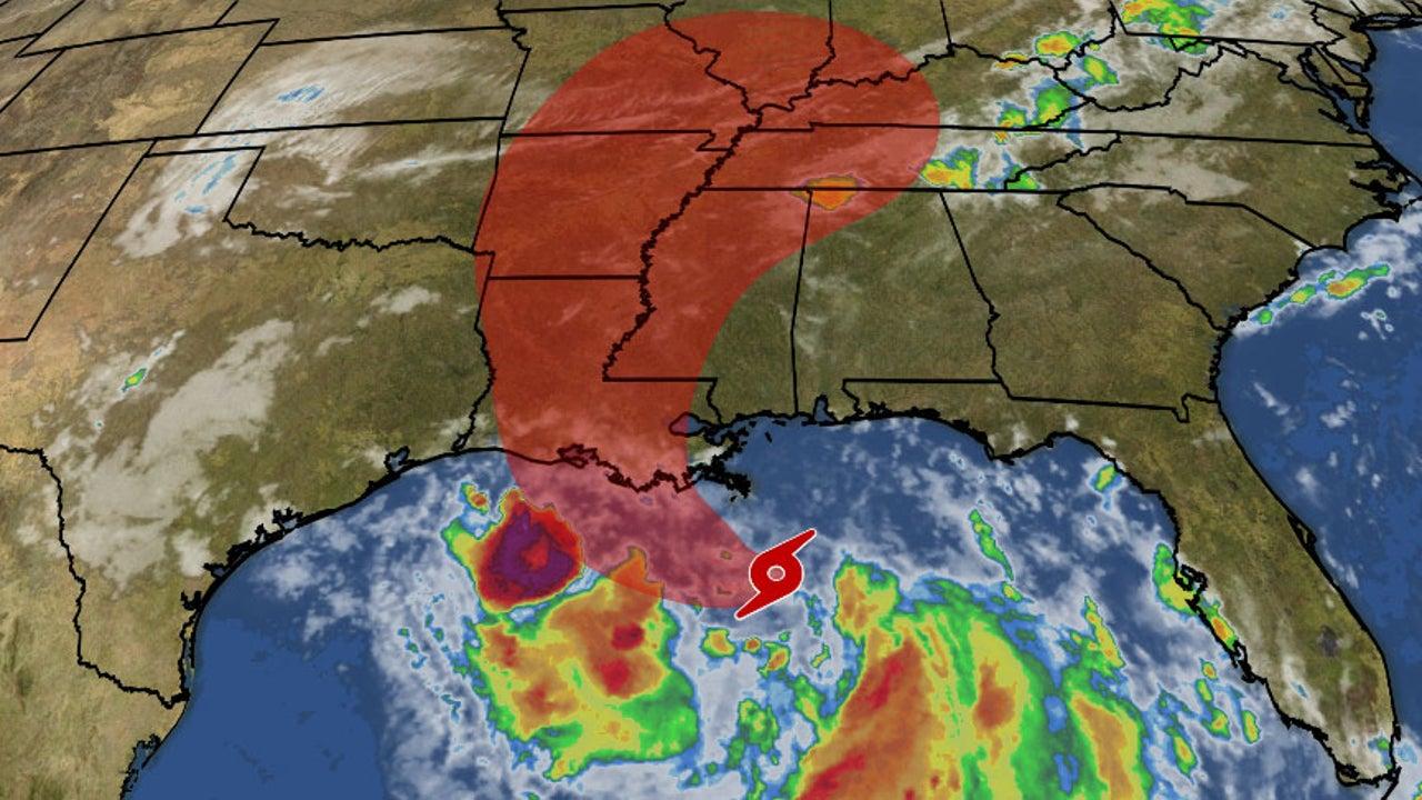 Tropensturm Barry nimmt Kurs auf die Südstaaten. Der Sturm wird noch vor Landfall zum Hurrikan der Stufe 1 heranwachsen. Neben Sturmfluten mit über 2 Meter hohen Wasserständen, geht vor allem vom Niederschlag die größte Gefahr aus. Heftige Regenfälle haben New Orleans bereits unter Wasser gesetzt. Für den US-Bundesstaat Louisiana wurde der Notstand ausgerufen.